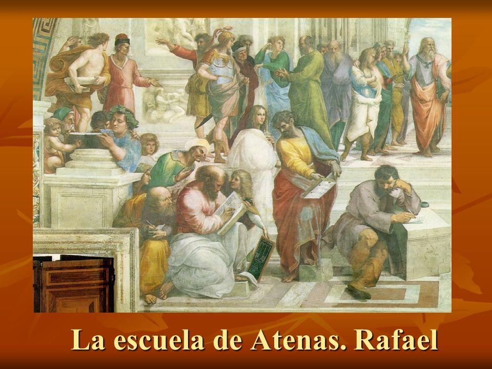 La escuela de Atenas. Rafael
