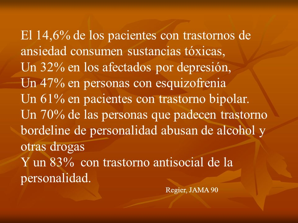 Un 32% en los afectados por depresión,