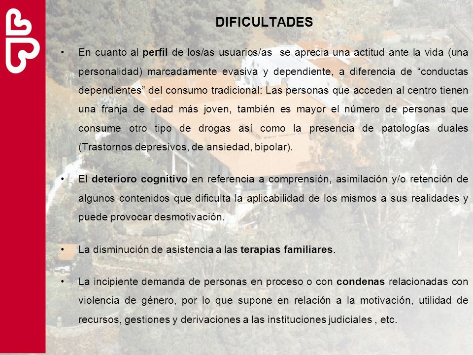 DIFICULTADES DIFICULTADES