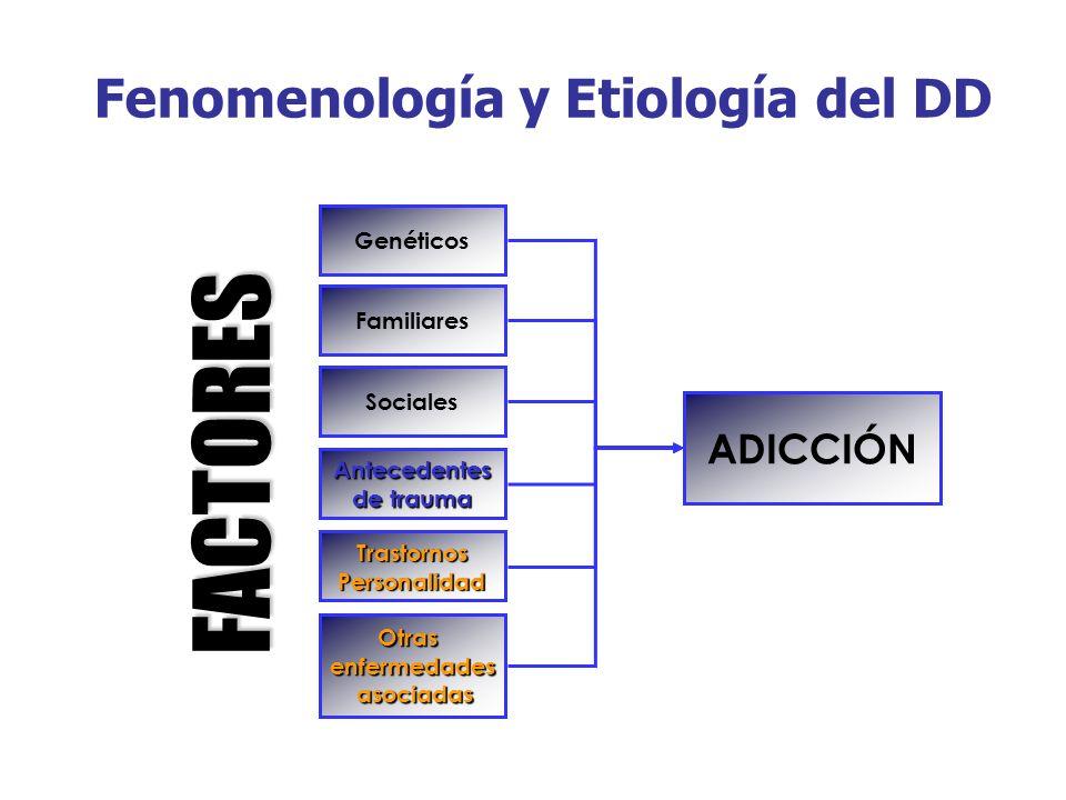 Fenomenología y Etiología del DD