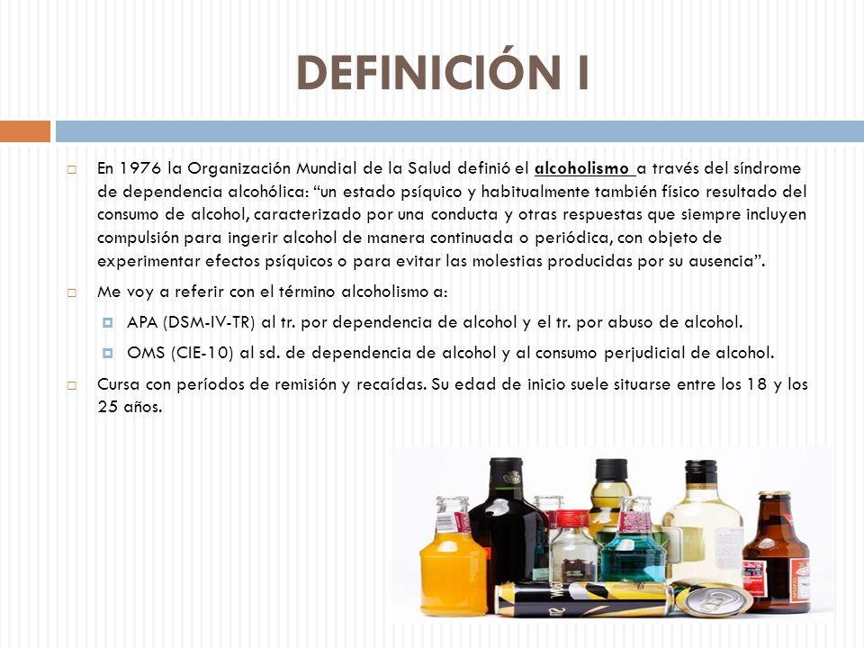 DEFINICIÓN I