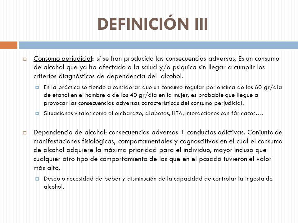 DEFINICIÓN III