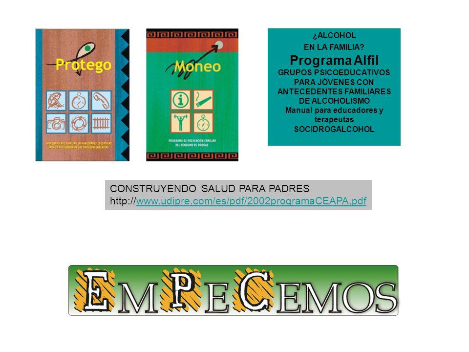 Programa Alfil CONSTRUYENDO SALUD PARA PADRES
