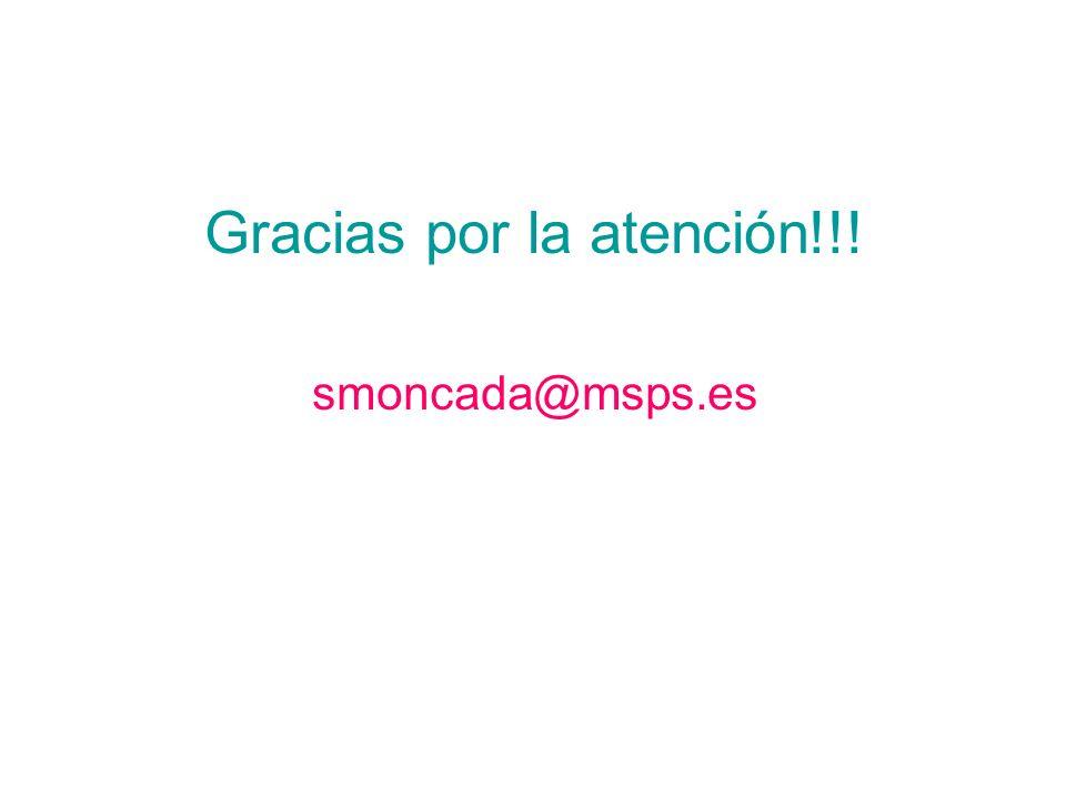 Gracias por la atención!!!