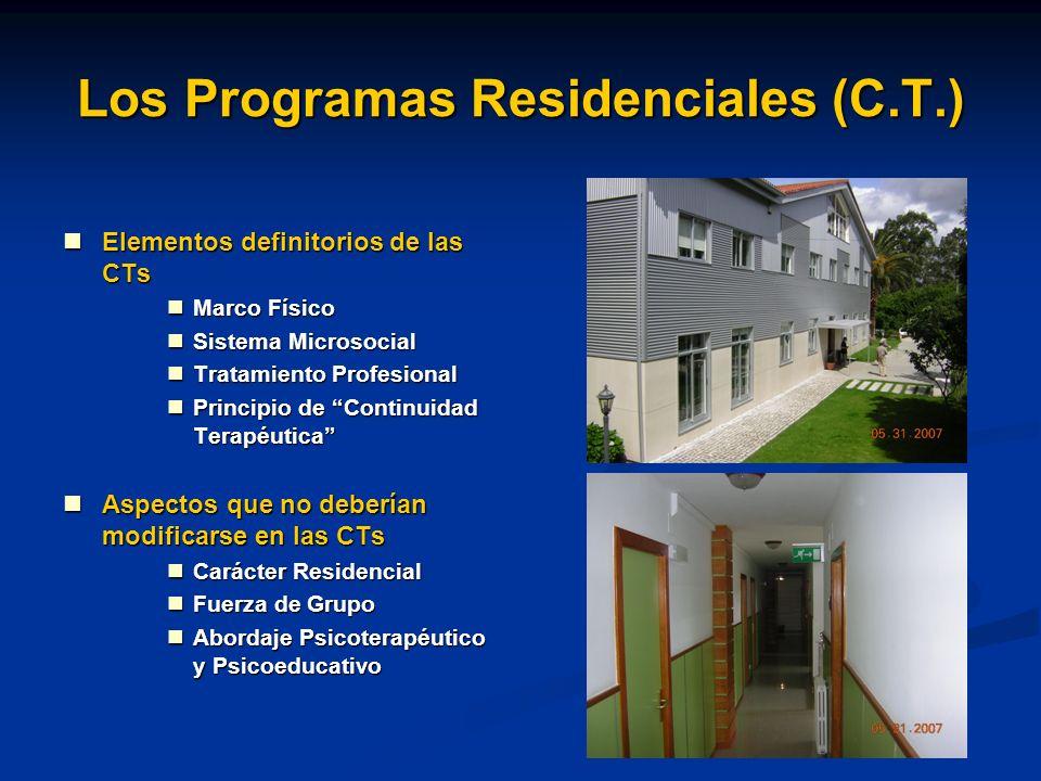 Los Programas Residenciales (C.T.)