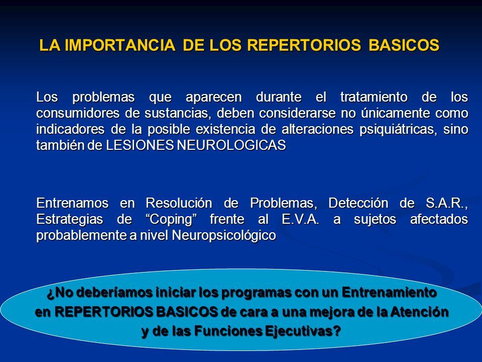 LA IMPORTANCIA DE LOS REPERTORIOS BASICOS