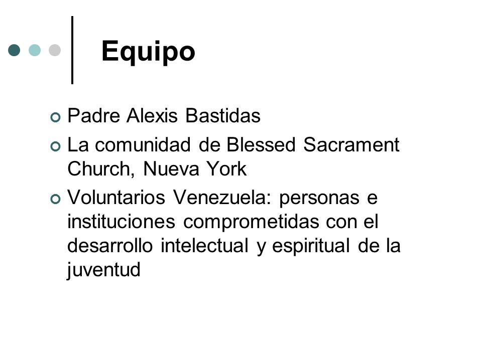 Equipo Padre Alexis Bastidas