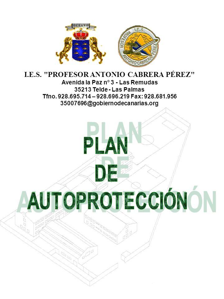I.E.S. PROFESOR ANTONIO CABRERA PÉREZ