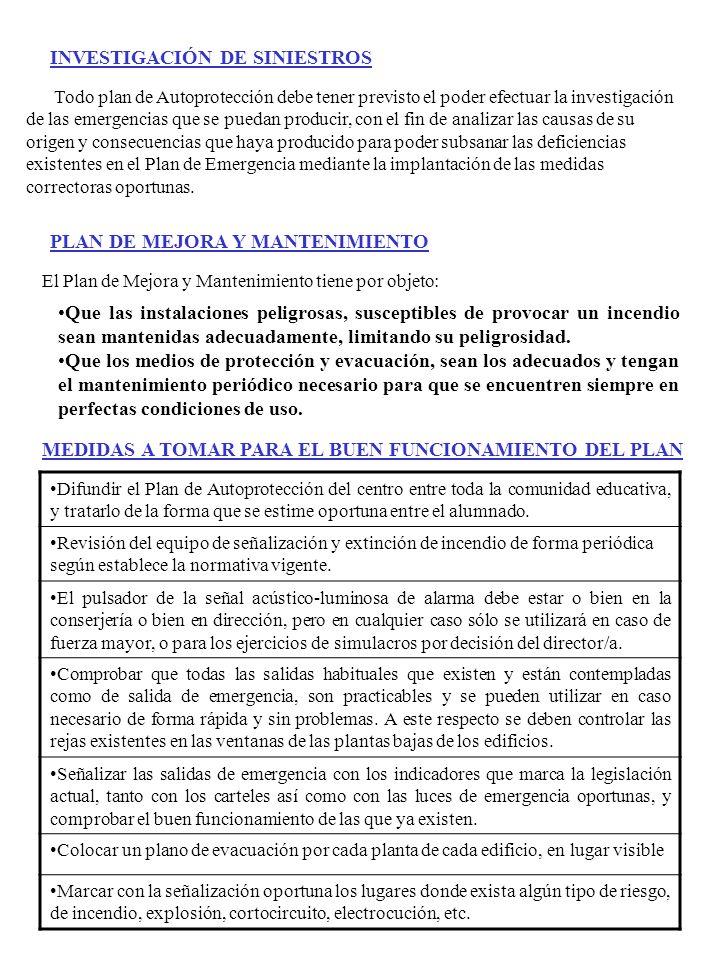 INVESTIGACIÓN DE SINIESTROS