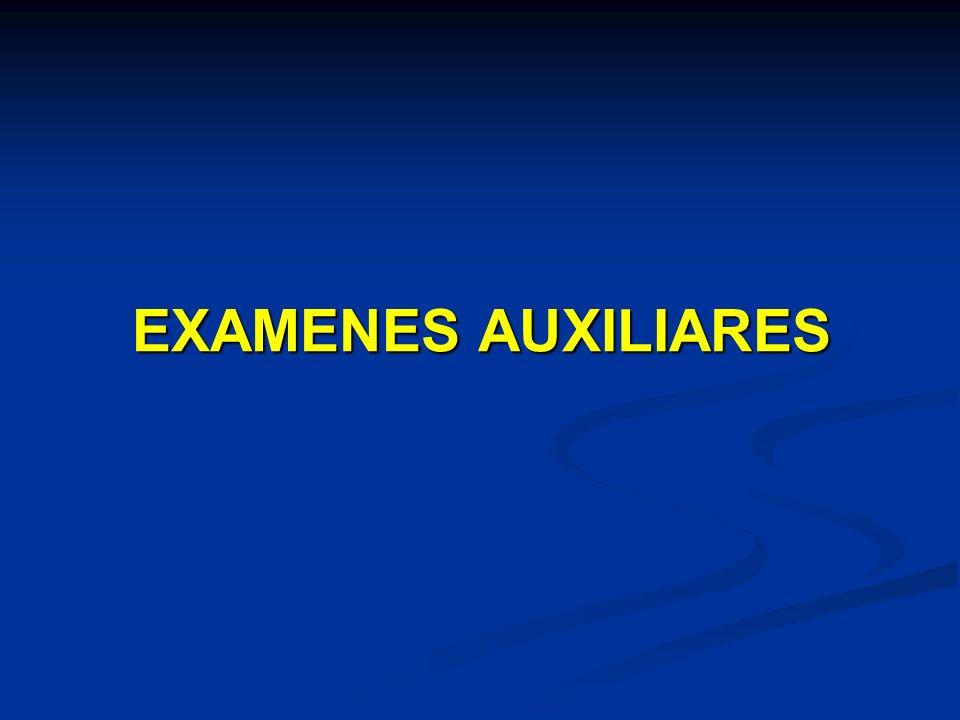 EXAMENES AUXILIARES