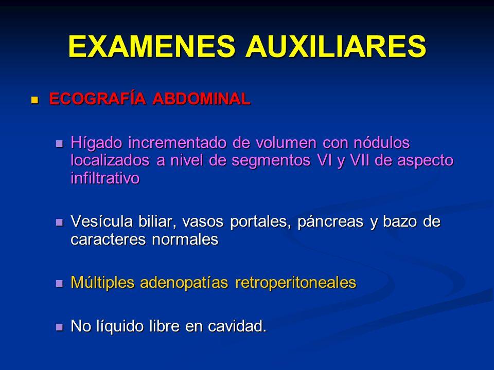 EXAMENES AUXILIARES ECOGRAFÍA ABDOMINAL