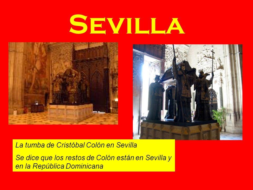Sevilla La tumba de Cristóbal Colón en Sevilla