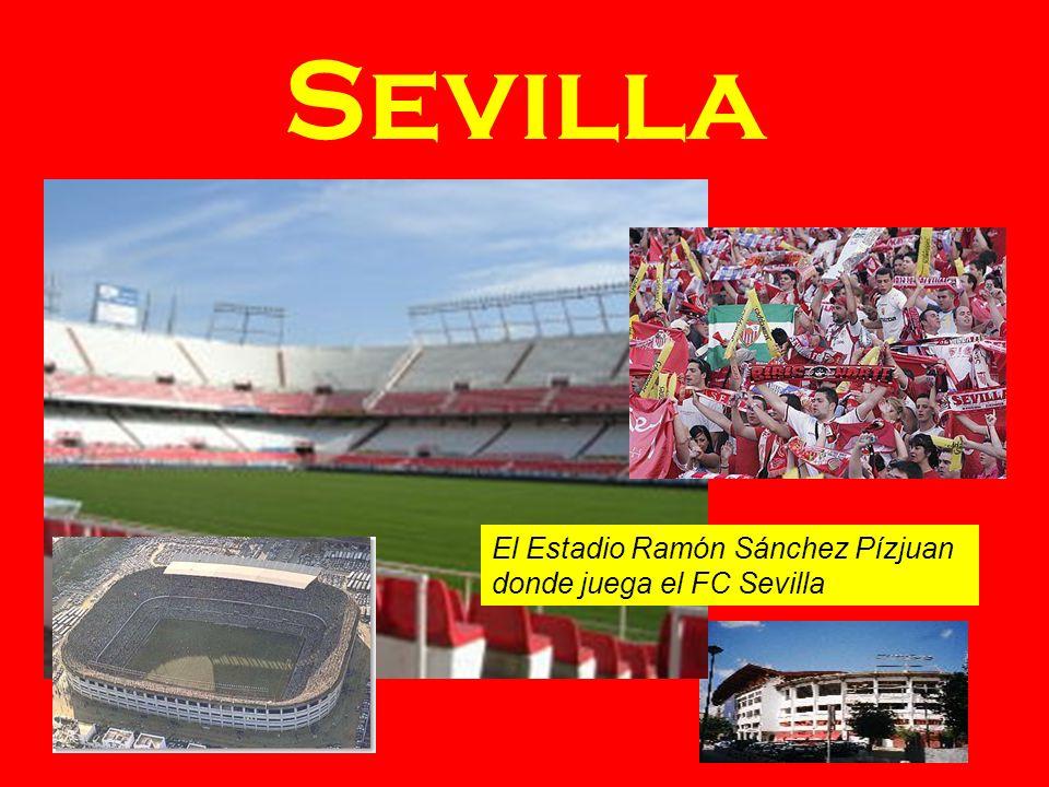 Sevilla El Estadio Ramón Sánchez Pízjuan donde juega el FC Sevilla