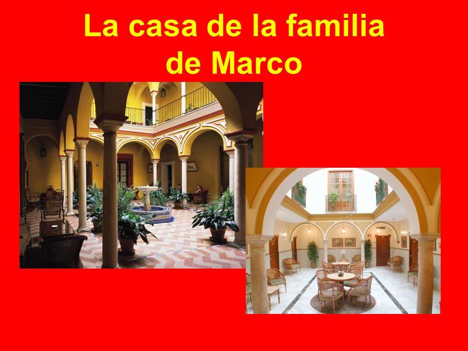 La casa de la familia de Marco