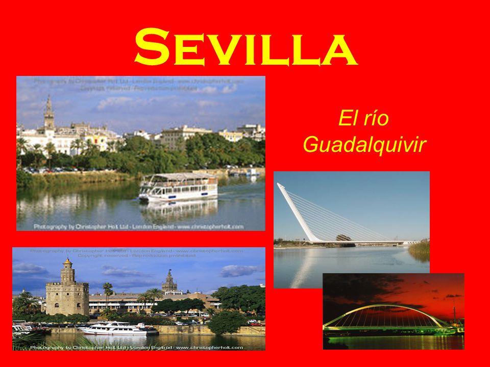 Sevilla El río Guadalquivir