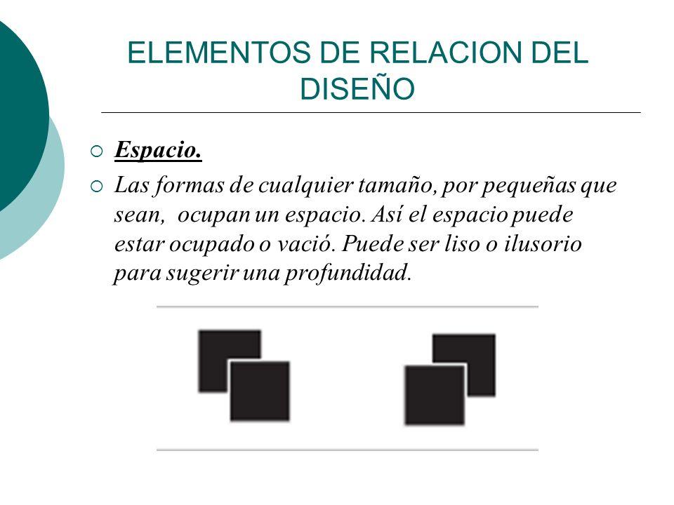 ELEMENTOS DE RELACION DEL DISEÑO