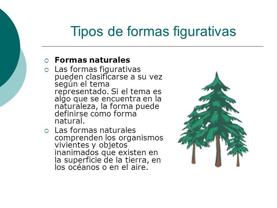 Tipos de formas figurativas