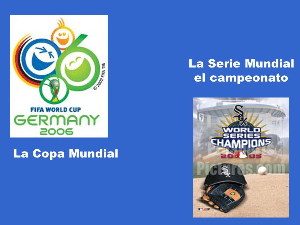 La Serie Mundial el campeonato