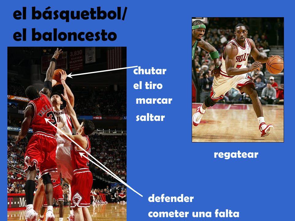 el básquetbol/ el baloncesto