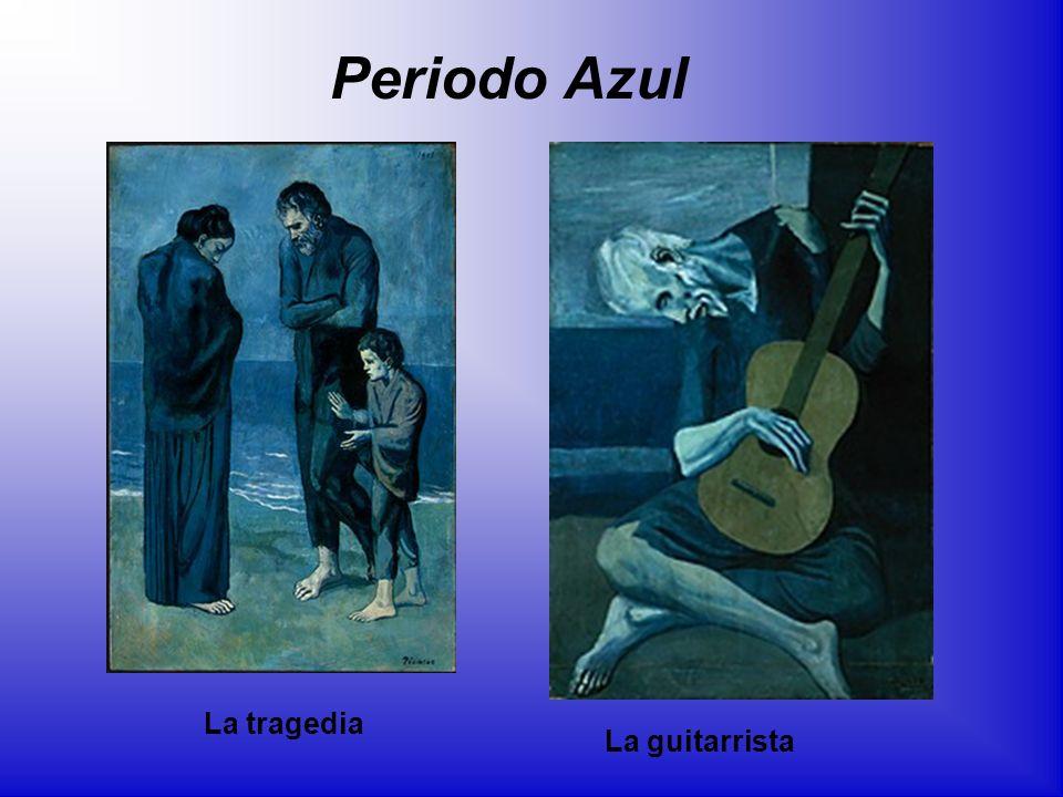 Periodo Azul La tragedia La guitarrista