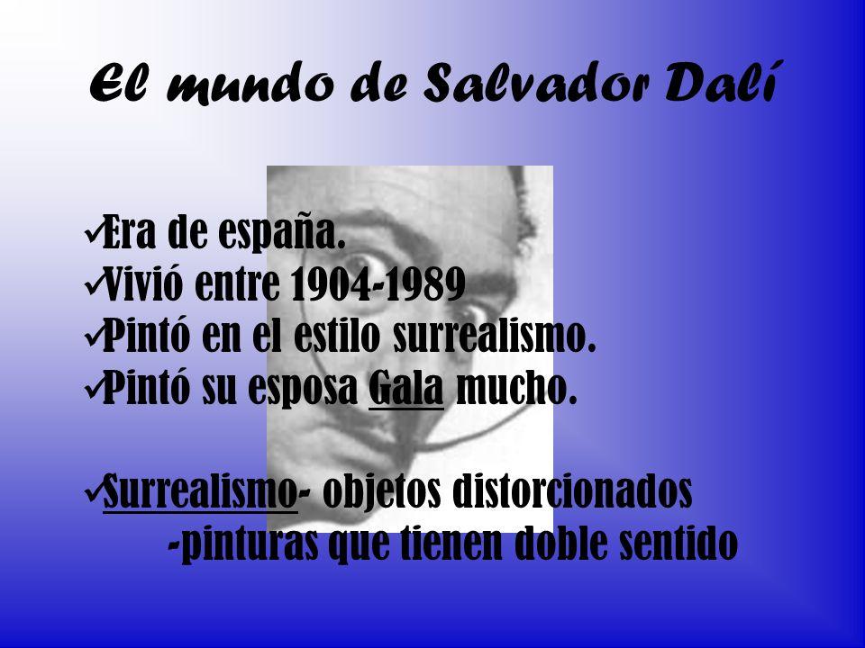 El mundo de Salvador Dalí