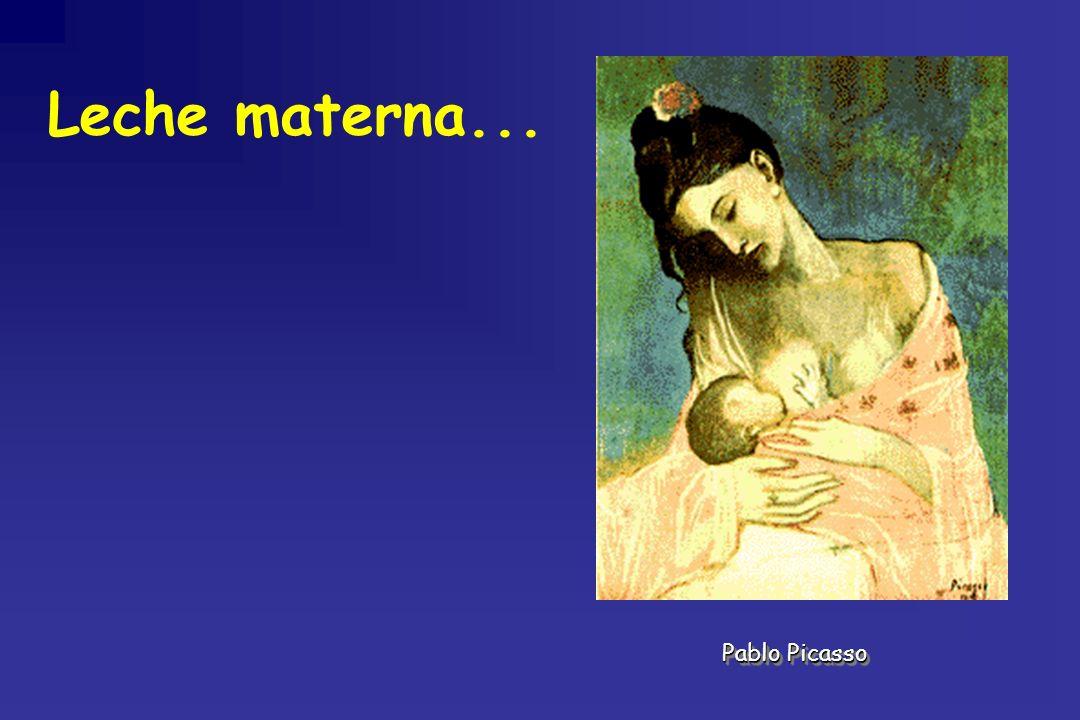 Leche materna... Pablo Picasso