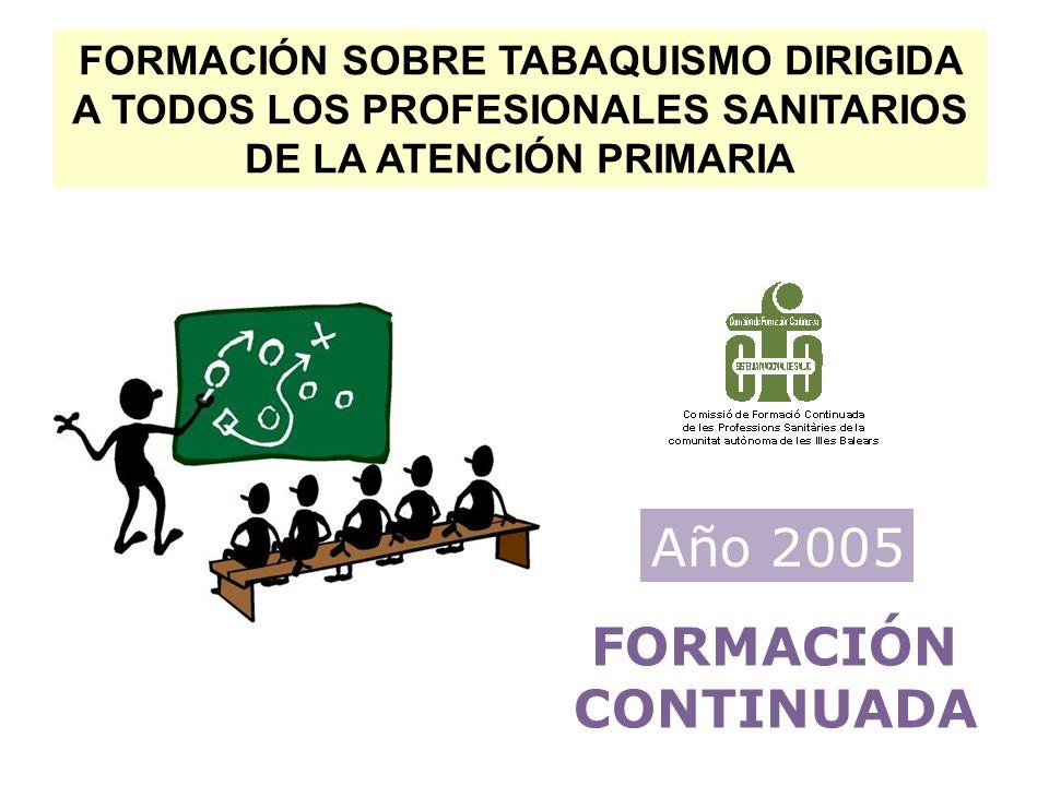 Año 2005 FORMACIÓN CONTINUADA