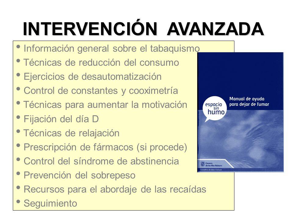INTERVENCIÓN AVANZADA