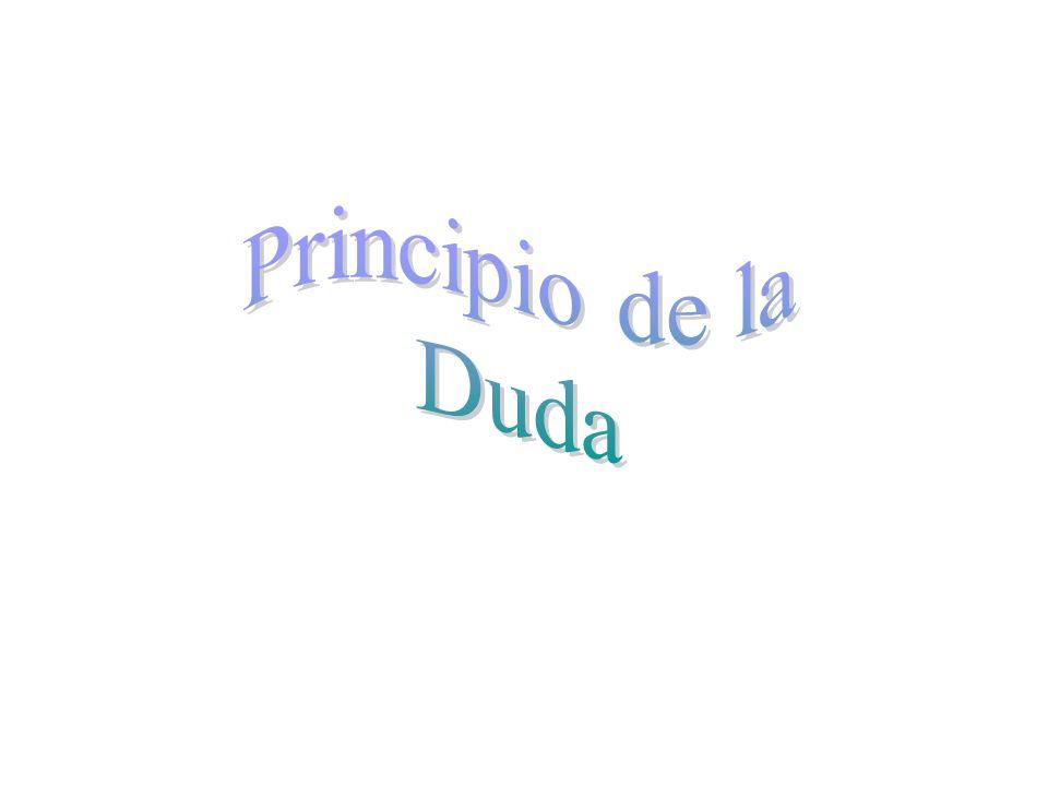 Principio de la Duda