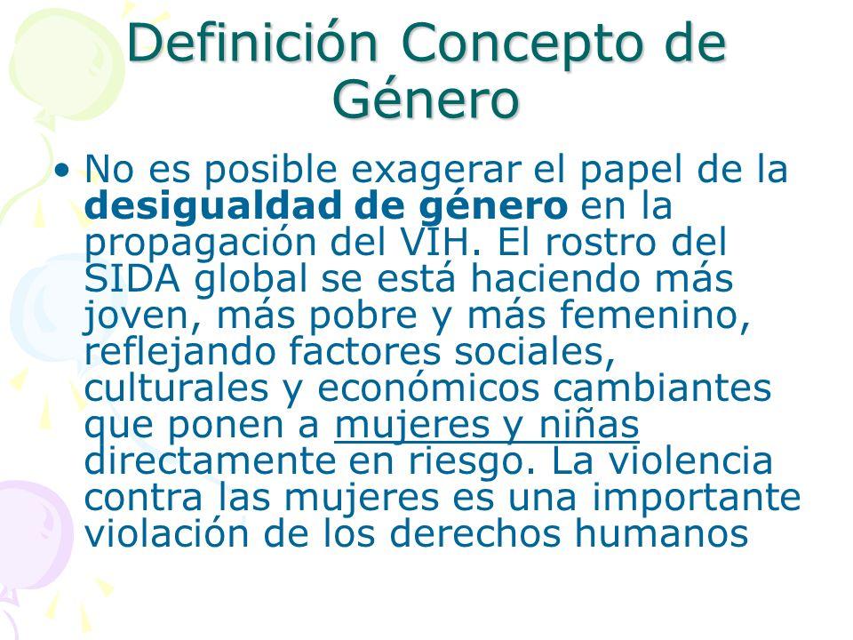 Definición Concepto de Género