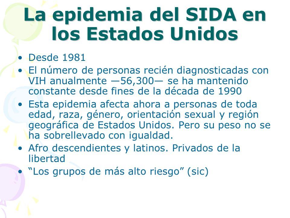 La epidemia del SIDA en los Estados Unidos