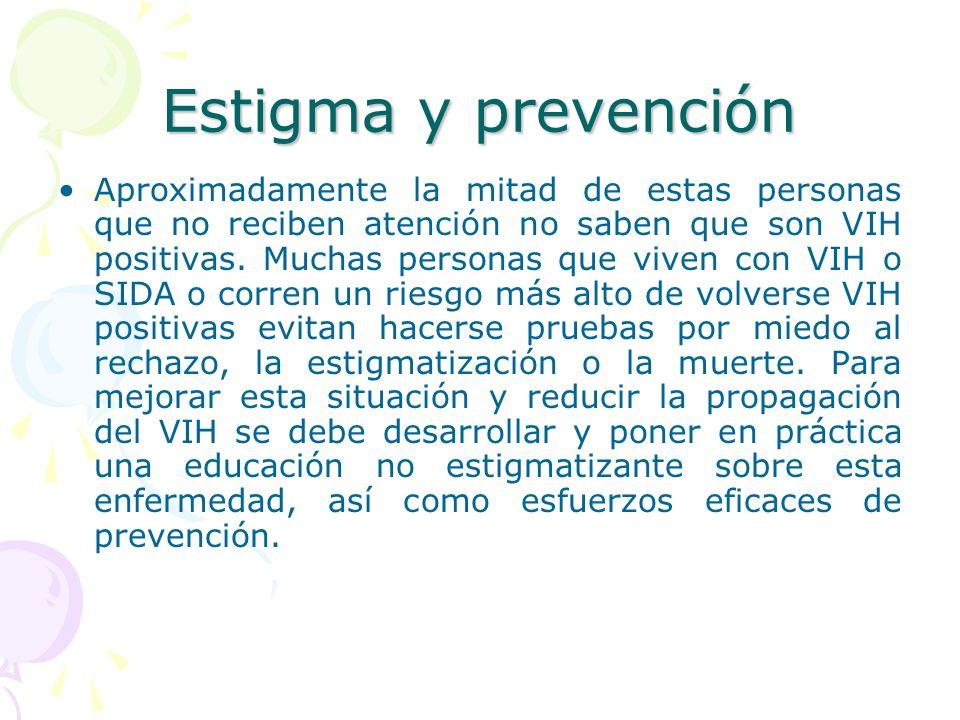 Estigma y prevención