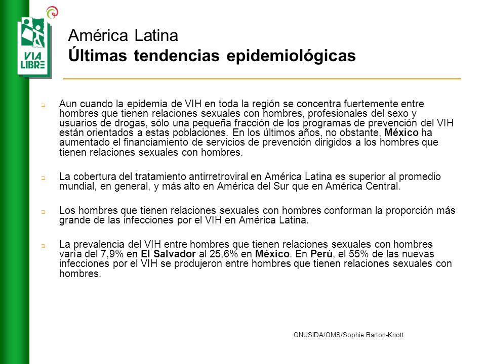 América Latina Últimas tendencias epidemiológicas