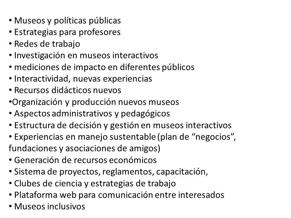 Museos y políticas públicas