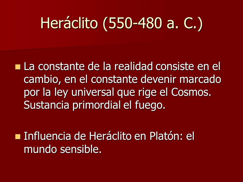 Heráclito (550-480 a. C.)