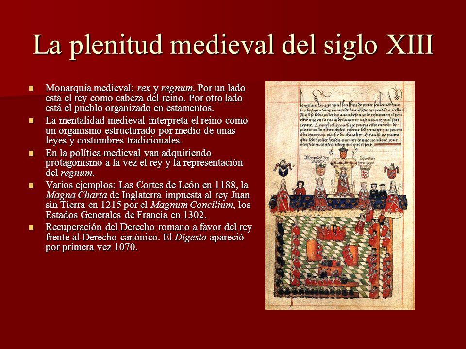 La plenitud medieval del siglo XIII