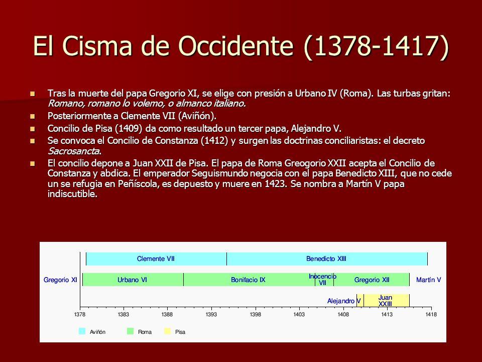 El Cisma de Occidente (1378-1417)