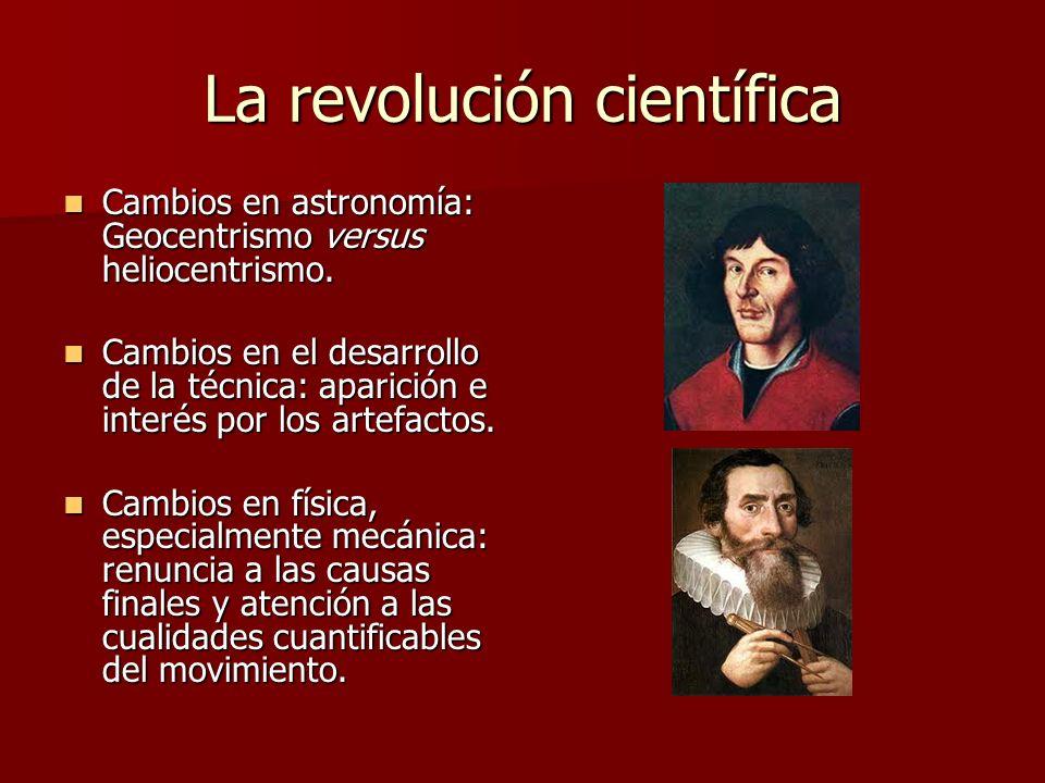 La revolución científica