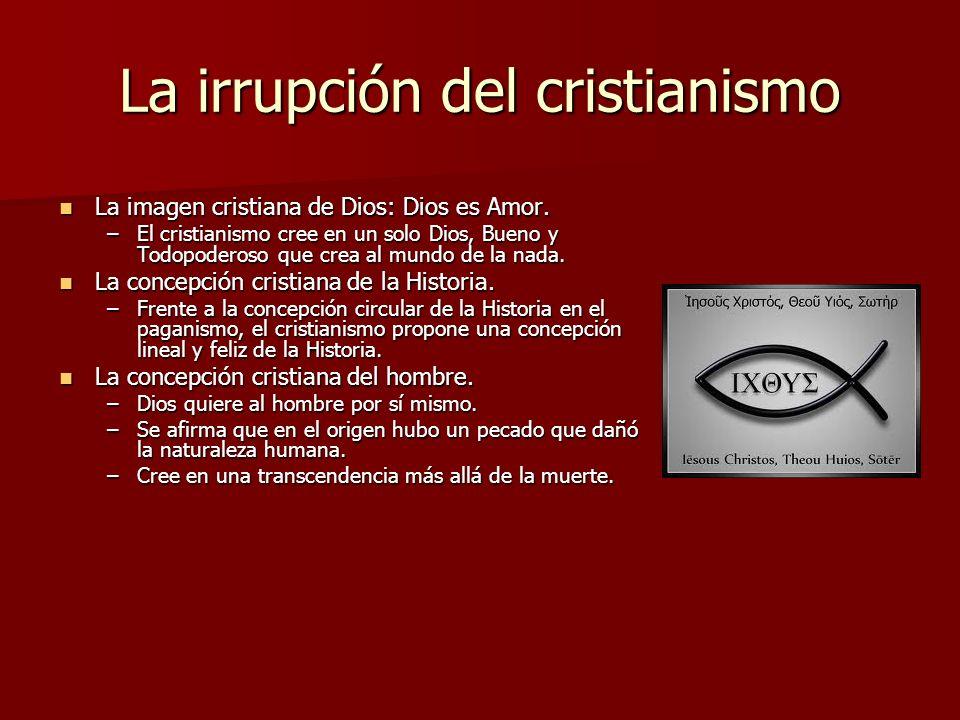 La irrupción del cristianismo