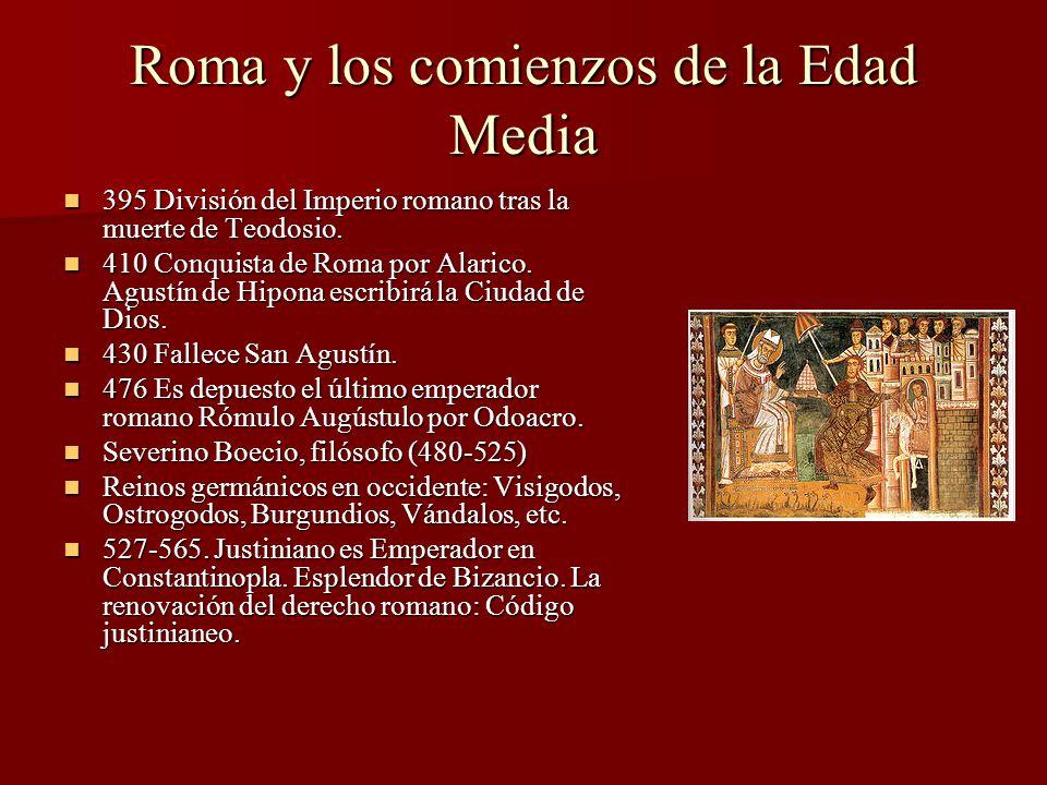 Roma y los comienzos de la Edad Media