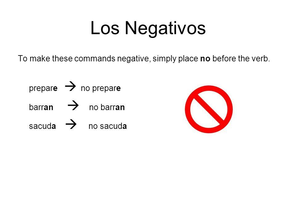 Los Negativos sacuda  no sacuda