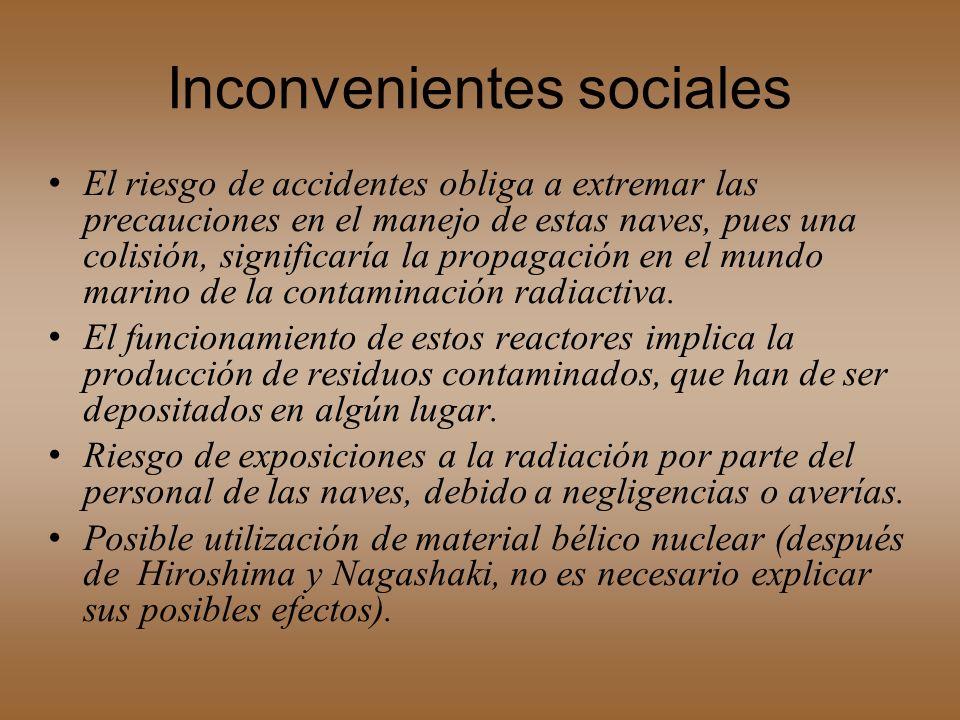 Inconvenientes sociales