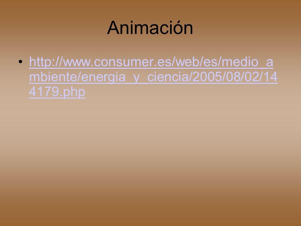 Animación http://www.consumer.es/web/es/medio_am biente/energia_y_ciencia/2005/08/02/1441 79.php