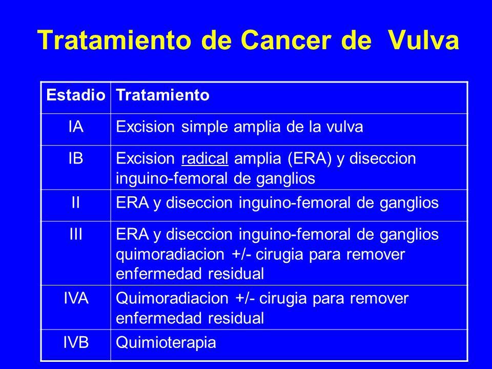 Tratamiento de Cancer de Vulva