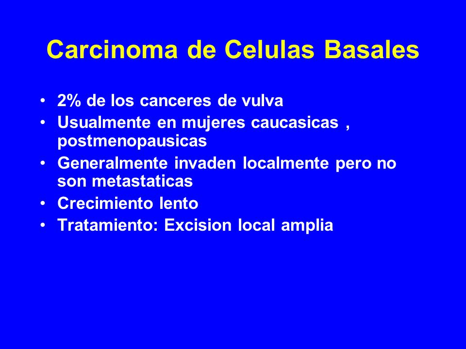 Carcinoma de Celulas Basales