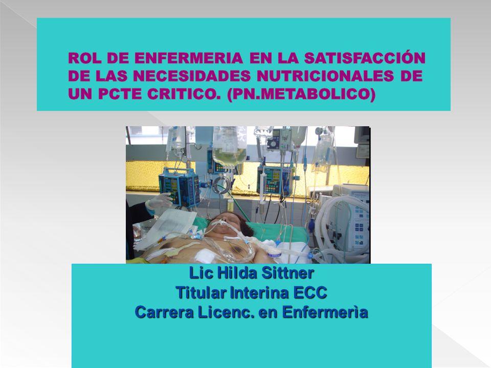 Carrera Licenc. en Enfermerìa