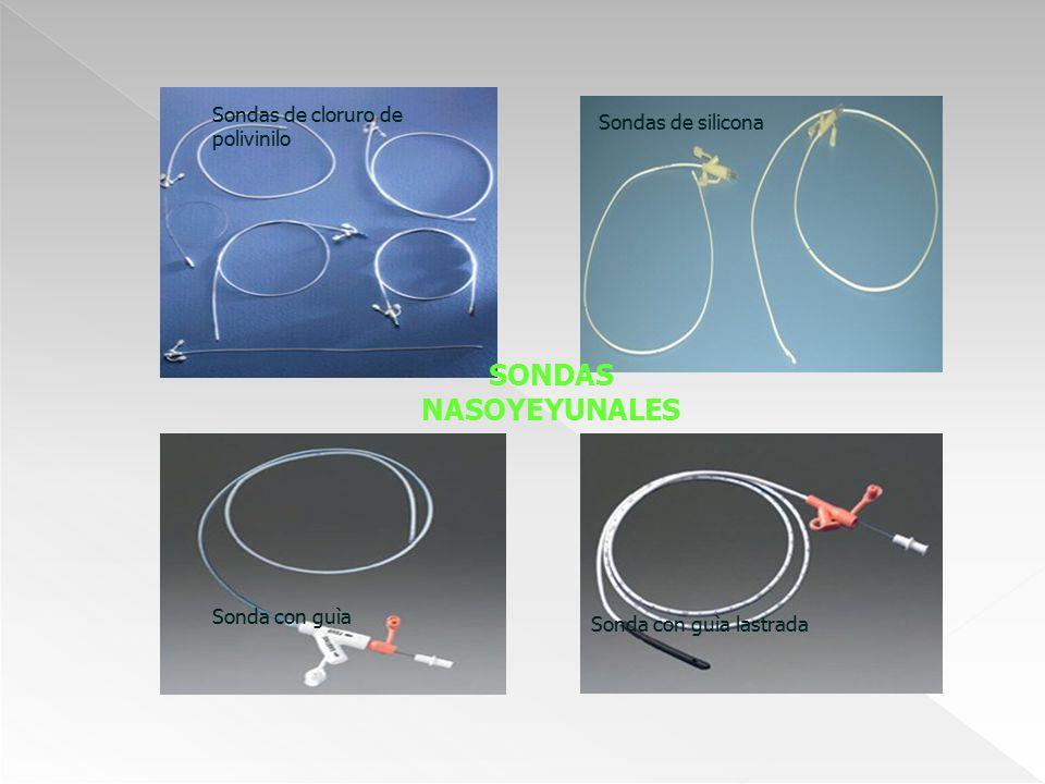 SONDAS NASOYEYUNALES Sondas de cloruro de polivinilo