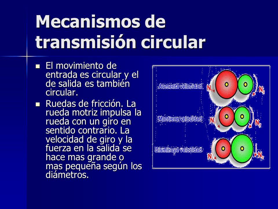 Mecanismos de transmisión circular