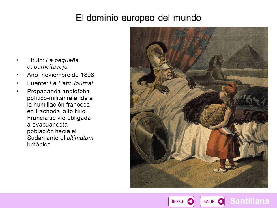El dominio europeo del mundo