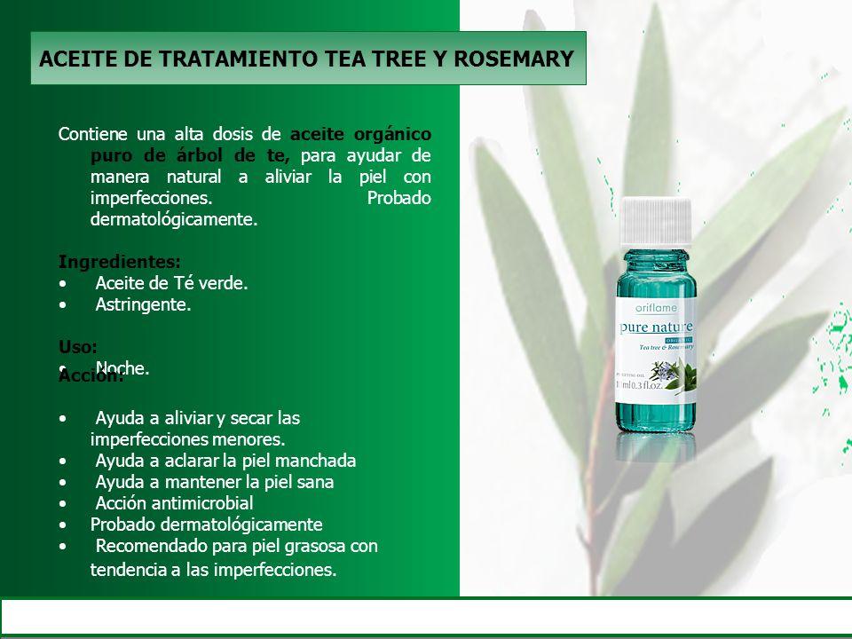 ACEITE DE TRATAMIENTO TEA TREE Y ROSEMARY